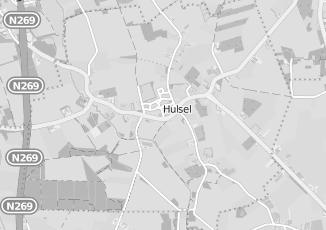 Kaartweergave van Supermarkt in Hulsel