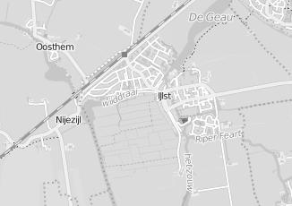 Kaartweergave van Bergsma in Ijlst