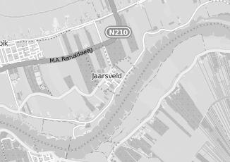 Kaartweergave van Isolatie in Jaarsveld