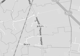 Kaartweergave van Action in Jellum