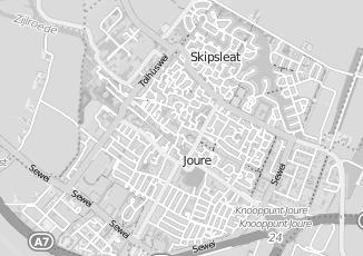 Kaartweergave van Jorritsma in Joure