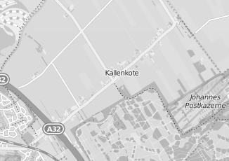 Kaartweergave van Spijkerman in Kallenkote