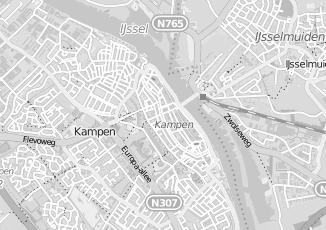 Kaartweergave van Bruggen in Kampen