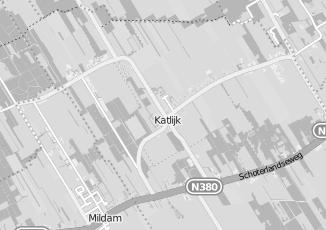 Kaartweergave van H kruithof in Katlijk