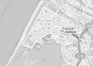 Kaartweergave van Oudshoorn in Katwijk Zuid Holland