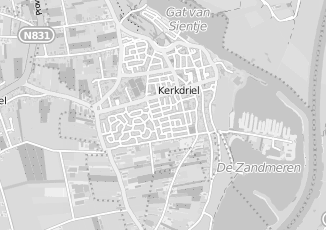 Kaartweergave van Kwik fit in Kerkdriel