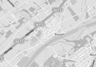 Kaartweergave van Knubben in Kessel