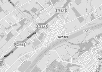 Kaartweergave van Claessen in Kessel