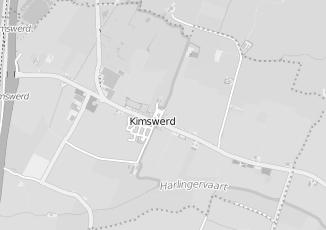Kaartweergave van Karwei in Kimswerd