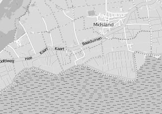 Kaartweergave van Tuin en landschap in Kinnum