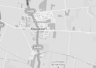Kaartweergave van Ijsselmuide in Klaaswaal