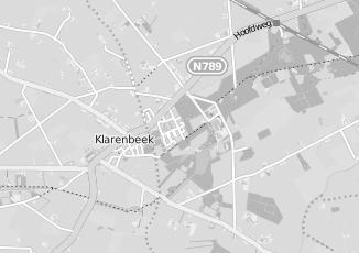 Kaartweergave van Bouwmeester in Klarenbeek
