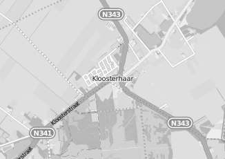 Kaartweergave van Lensen in Kloosterhaar