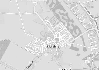 Kaartweergave van Donkers in Klundert