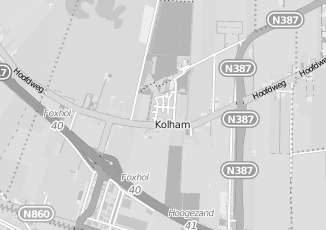 Kaartweergave van Cloo in Kolham