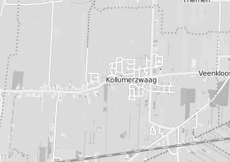 Kaartweergave van Postma in Kollumerzwaag