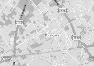 Kaartweergave van Supermarkt in Koningslust