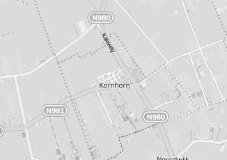 Kaartweergave van Bank in Kornhorn