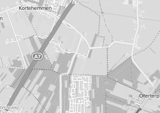 Kaartweergave van Albert heijn in Kortehemmen