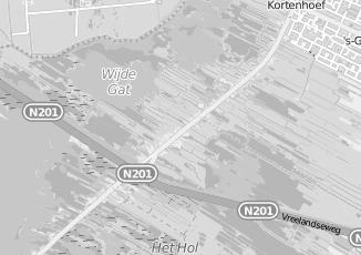 Kaartweergave van Milieustraat in Kortenhoef