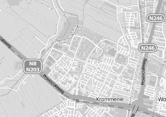 Kaartweergave van Brussel in Krommenie