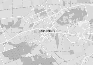 Kaartweergave van Milieustraat in Kronenberg