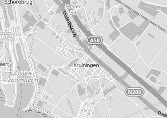 Kaartweergave van Harthoorn in Kruiningen