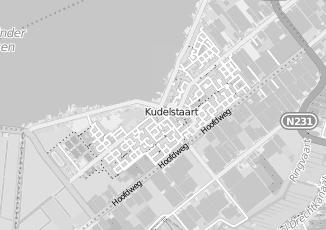 Kaartweergave van Meijer in Kudelstaart