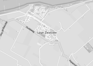 Kaartweergave van Alphen in Lage Zwaluwe