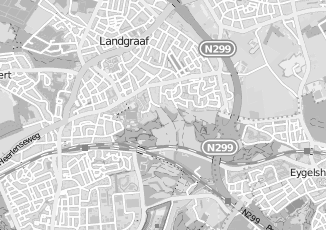 Kaartweergave van Hoogeveen in Landgraaf