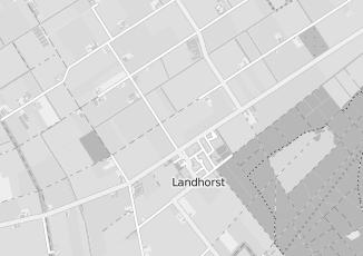 Kaartweergave van Heuvel in Landhorst