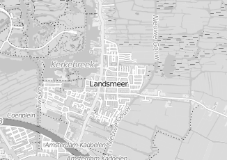 Kaartweergave van Kock in Landsmeer