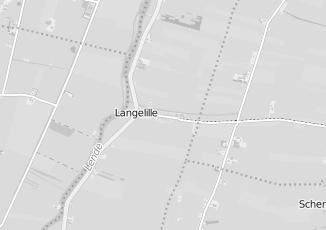 Kaartweergave van Hoekstra in Langelille