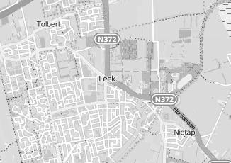 Kaartweergave van Dijkstra in Leek