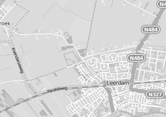 Kaartweergave van Jansen in Leerdam