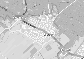 Kaartweergave van Donker in Leersum