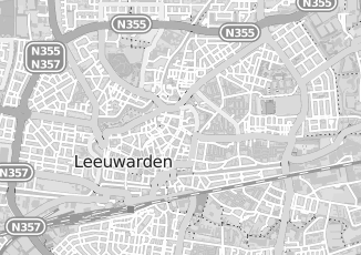 Kaartweergave van Oosten in Leeuwarden