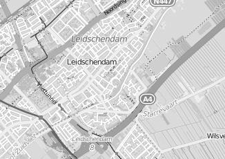 Kaartweergave van Hol in Leidschendam