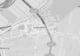 Kaartweergave van Milieustraat in Leimuiden