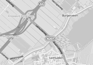 Kaartweergave van Albert heijn in Leimuiderbrug