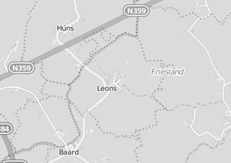 Kaartweergave van Lucardi in Leons
