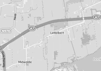 Kaartweergave van Administratiekantoor in Lettelbert