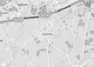 Kaartweergave van Albert heijn in Leunen