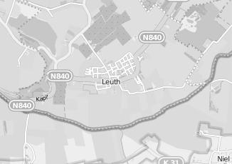 Kaartweergave van Rutten in Leuth