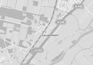Kaartweergave van Bank in Leuvenheim