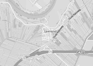 Kaartweergave van Groothandel in kleding en mode in Lexmond