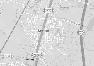 Kaartweergave van Krom in Limmen