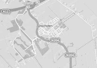 Kaartweergave van Bank in Linschoten