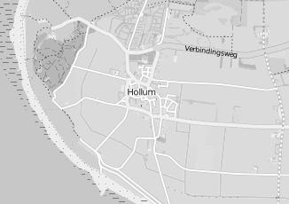 Kaartweergave van Milieustraat in Lollum