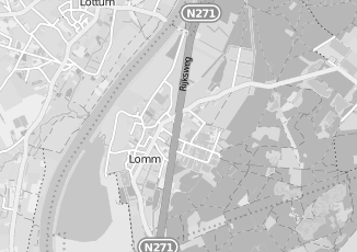 Kaartweergave van Deenen in Lomm